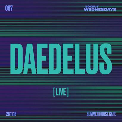 Boxout Wednesdays 087.3 - Daedelus (LIVE)
