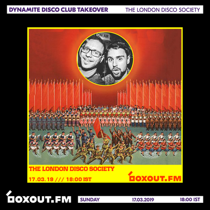 Dynamite Disco Club 2nd Anniversary - The London Disco Society
