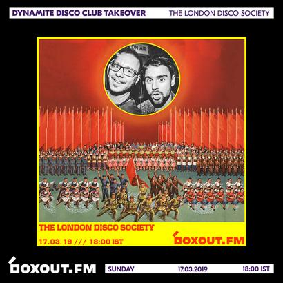 Dynamite Disco Club 2nd Anniversary - The London Disco Society