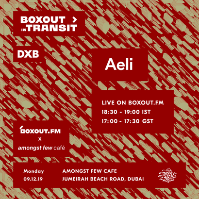 Boxout In Transit DXB (Amongst Few Cafe) - Aeli