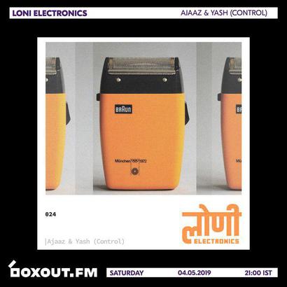 लोणी Electronics 024 - Ajaaz & Yash (Control)