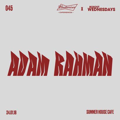 Budweiser x BW045.2 - Adam Rahman