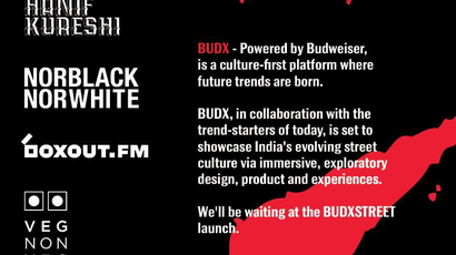 It's Collab Time at #BUDXSTREET