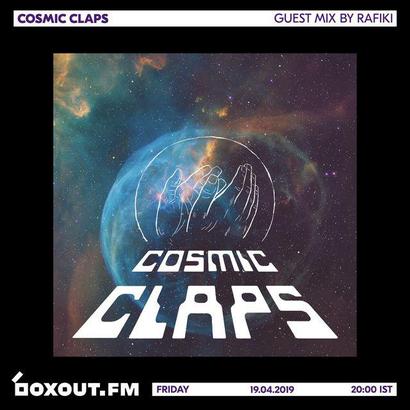 Cosmic Claps 025 - Guest Mix by Rafiki