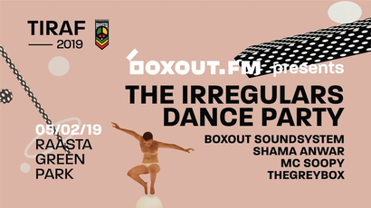 Boxout.fm presents The Irregulars Dance Party