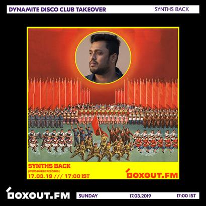 Dynamite Disco Club 2nd Anniversary - Synths Back