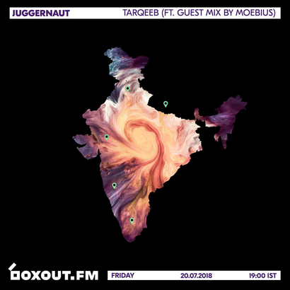 Juggernaut 016 - Tarqeeb (Featuring Guest Mix by Moebius)