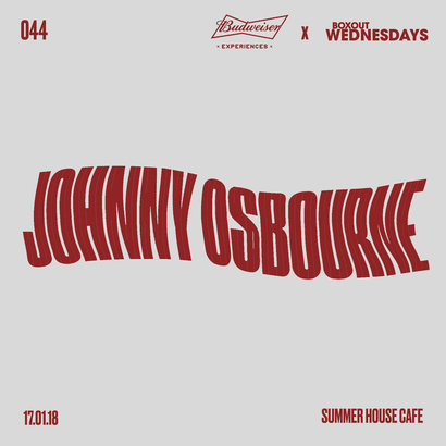 Budweiser x BW044.3 - Johnny Osbourne