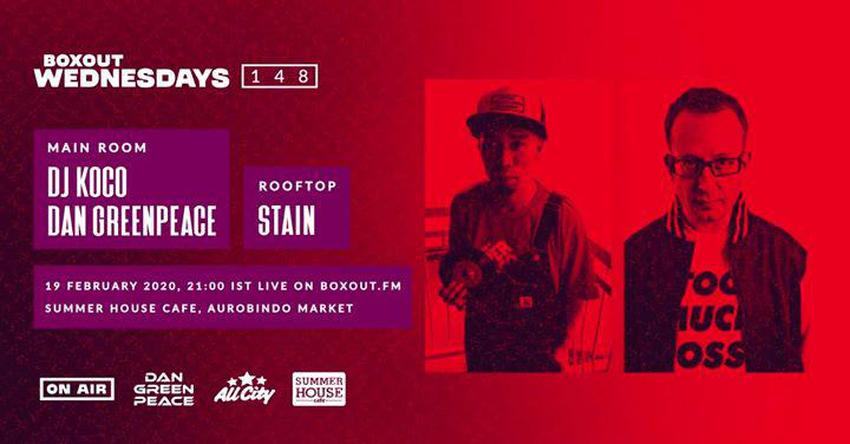 Boxout Wednesdays #148 w/ DJ KOCO & Dan Greenpeace