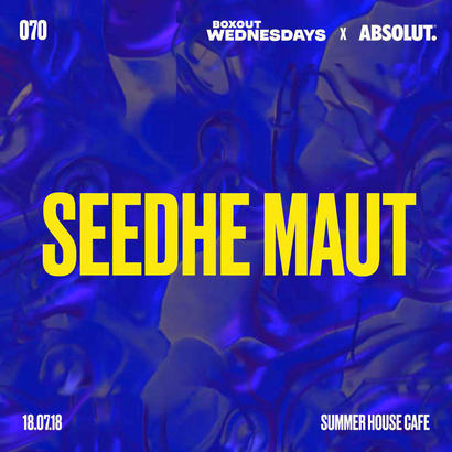 BW070.2 x Absolut - Seedhe Maut (Live)